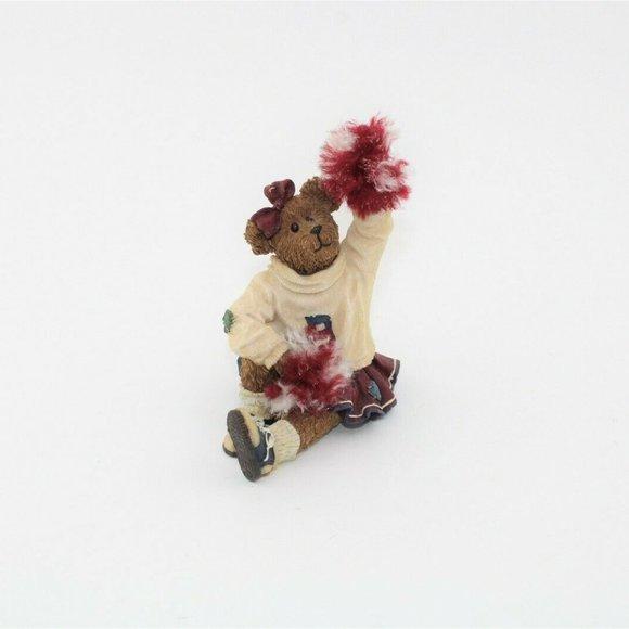 Boyds Bear Bearstone Sissy Boom Bah Figurine
